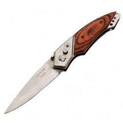 Nóż sprężynowy Spring Wood